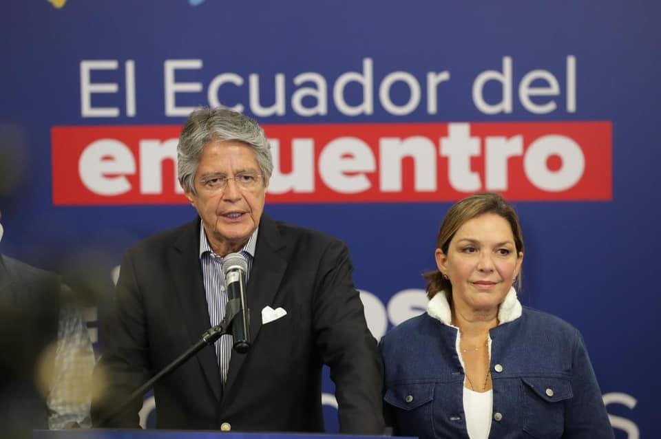 El próximo presidente, Guillermo Lasso, cumple agendas previo a iniciar su gestión.