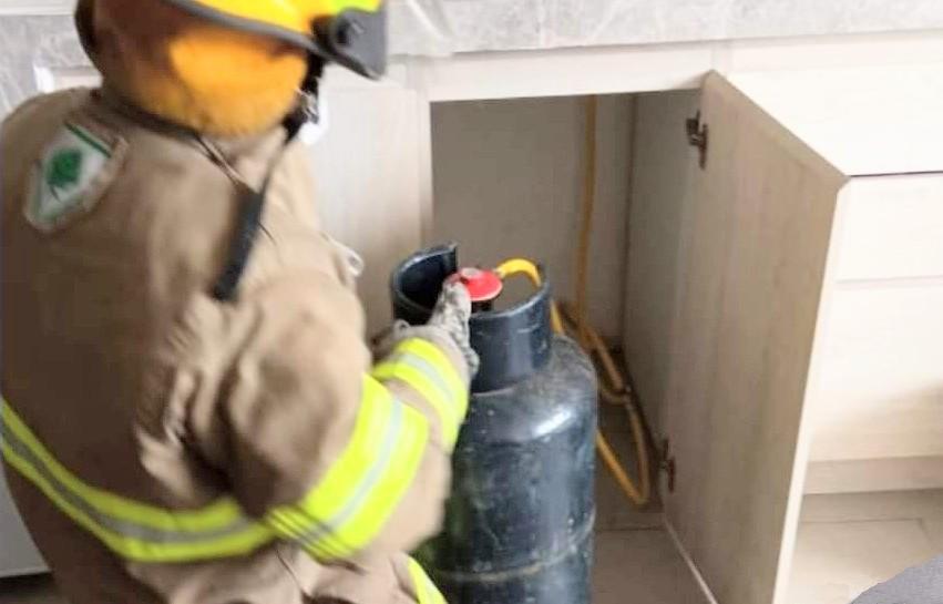 La intervención de los bomberos fue inmediata.