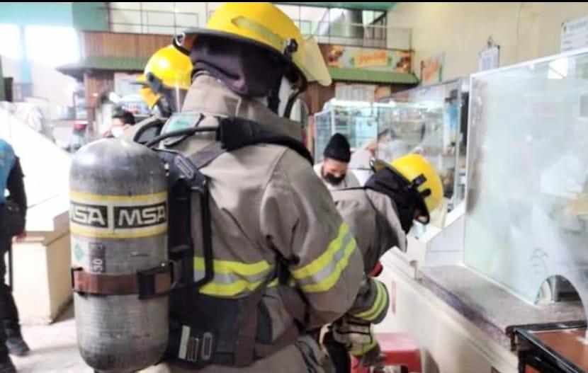 Los bomberos actuaron inmediatamente.