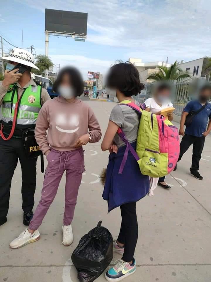 La menores de 12 y 13 años fueron localizadas la mañana del 26 de abril.