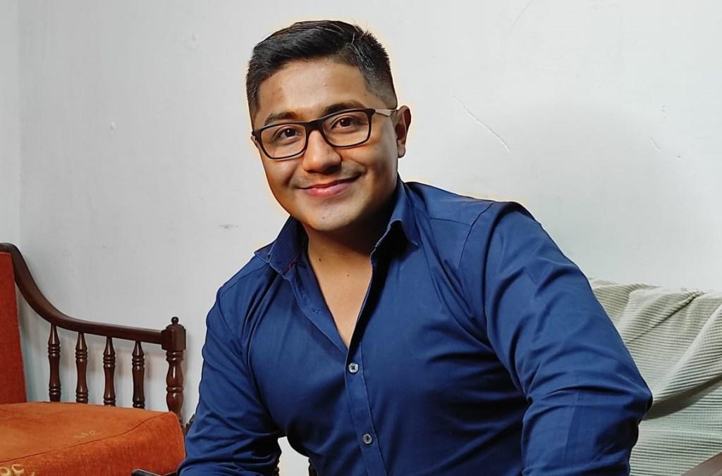 Darío Ayala es el director ejecutivo de las Juventudes de UNES en la provincia de Loja.