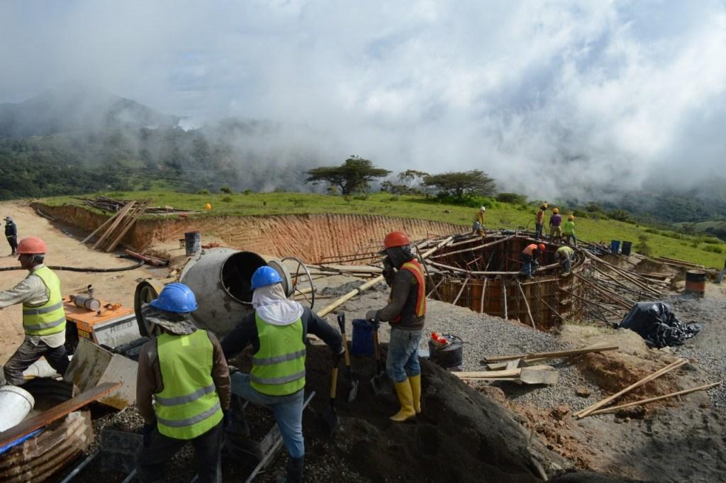 Los trabajos se cumplen, a decir de la constructora, de acuerdo al cronograma previsto.