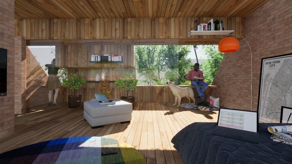Se aconseja que una vivienda debe ser diseñada de forma integrada por especialistas en arquitectura y ramas relacionadas.