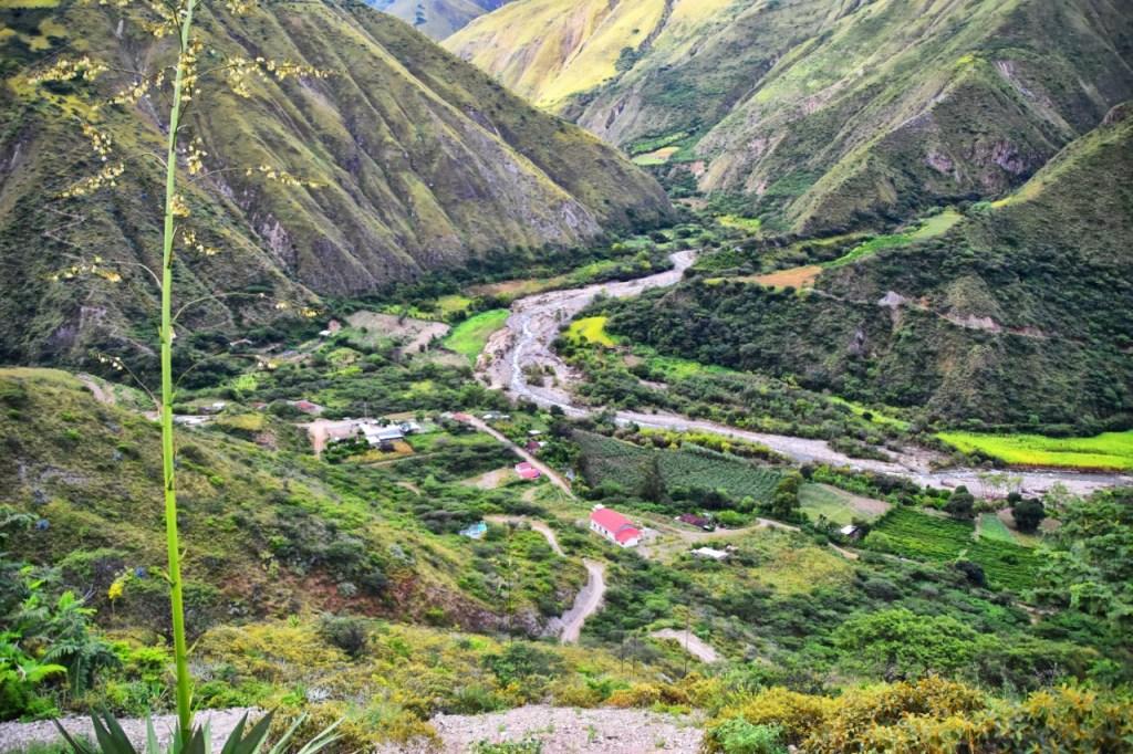 El barrio se caracteriza por su producción agrícola.
