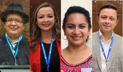 Los cuatro representantes lojanos inician con bastante optimismo su función como asambleístas de la provincia.