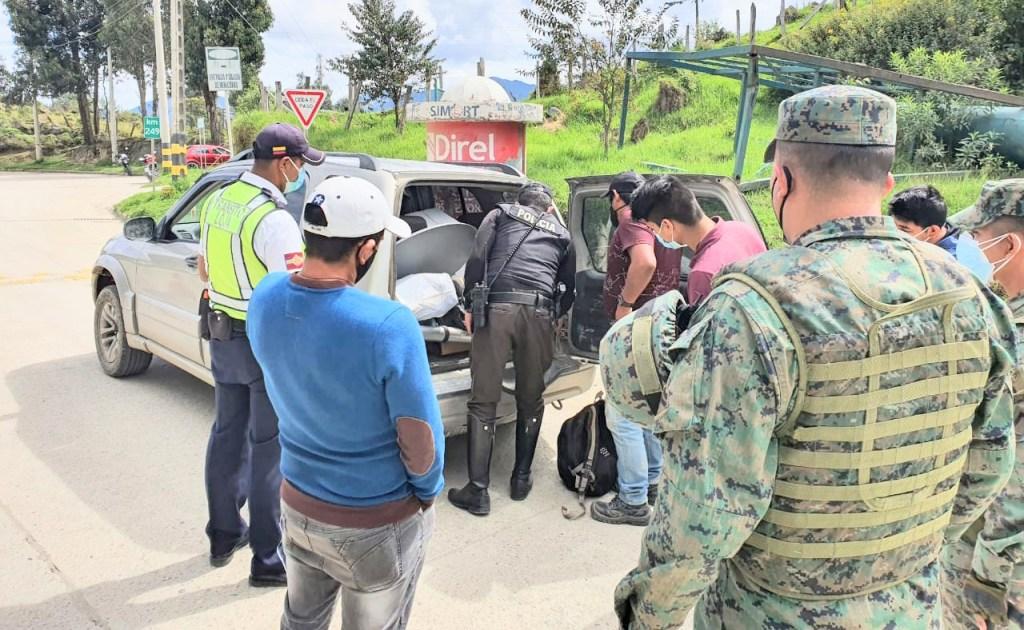 El operativo se ejecutó la mañana del último domingo.