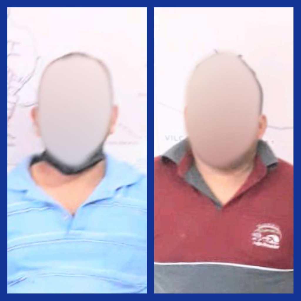 Dos ciudadanos fueron detenidos por la Policía en Vilcabamba.