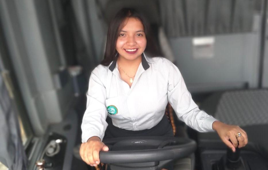 En la unidad de la Cooperativa Unión Cariamanga ha realizado ya varios viajes.