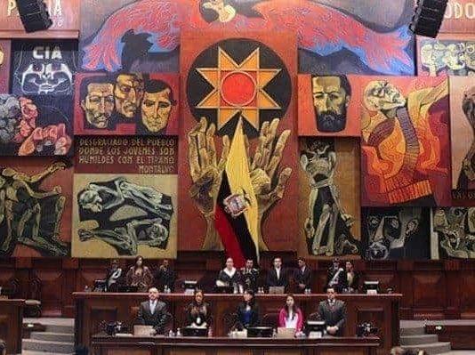 La Asamblea Nacional que fenece es blanco de críticas. (Fotografía cortesía Radio La Calle)