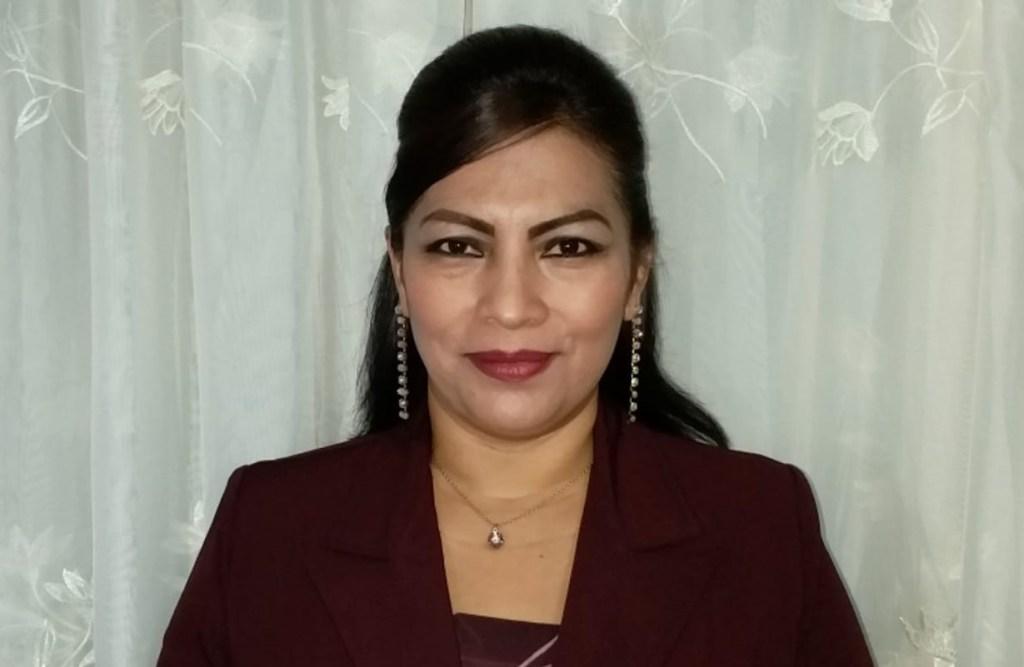 Norma Riofrío Bermeo, presidenta de la UNP de Loja.