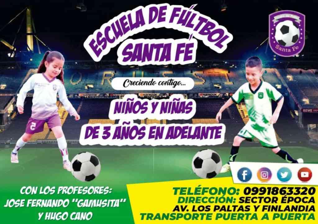 Afiche promocional de la entidad deportiva.