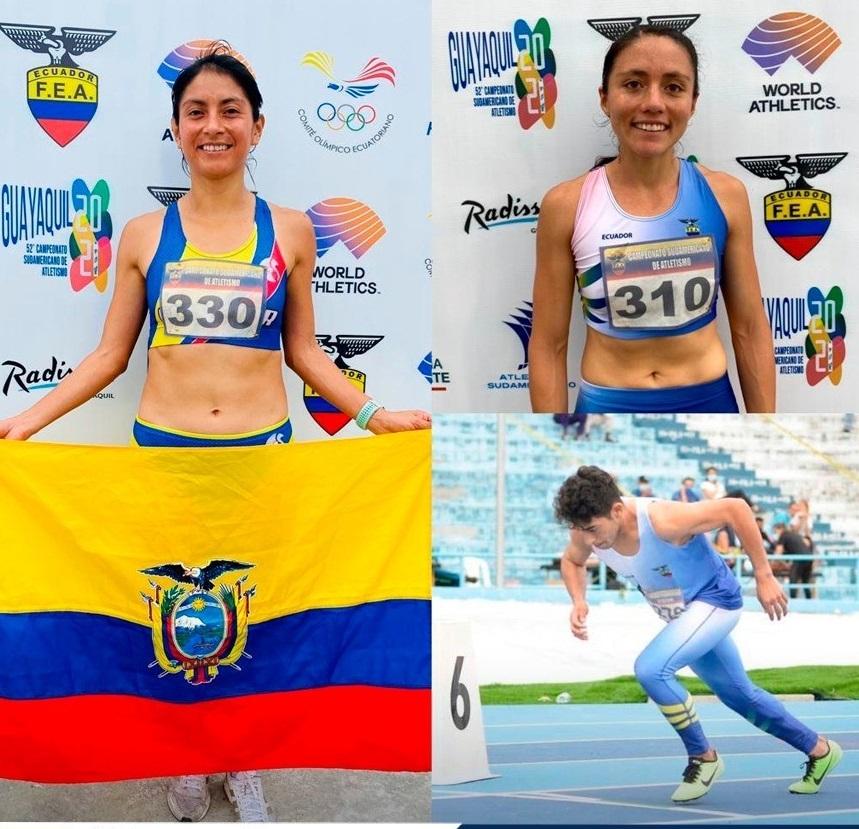Maritza Guamán, Andrea Calderón y Chesman Tacuri participaron de esta cita.