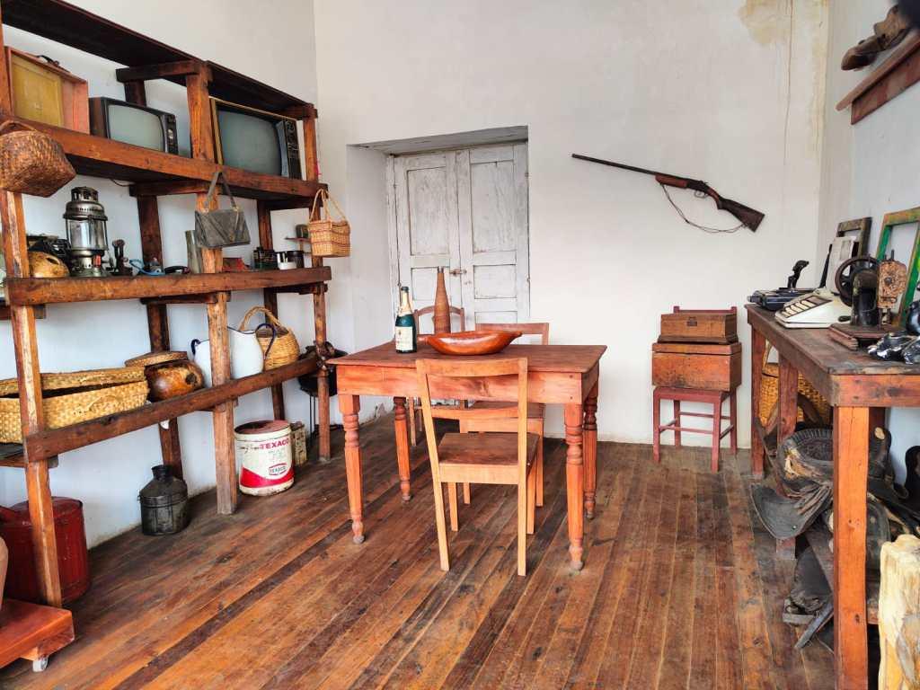 Esta vivienda se guarda parte de la historia de este pueblo.