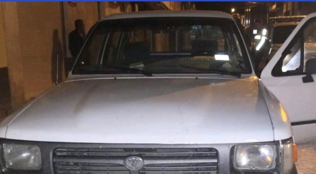 El carro fue robado la madrugada de ayer.