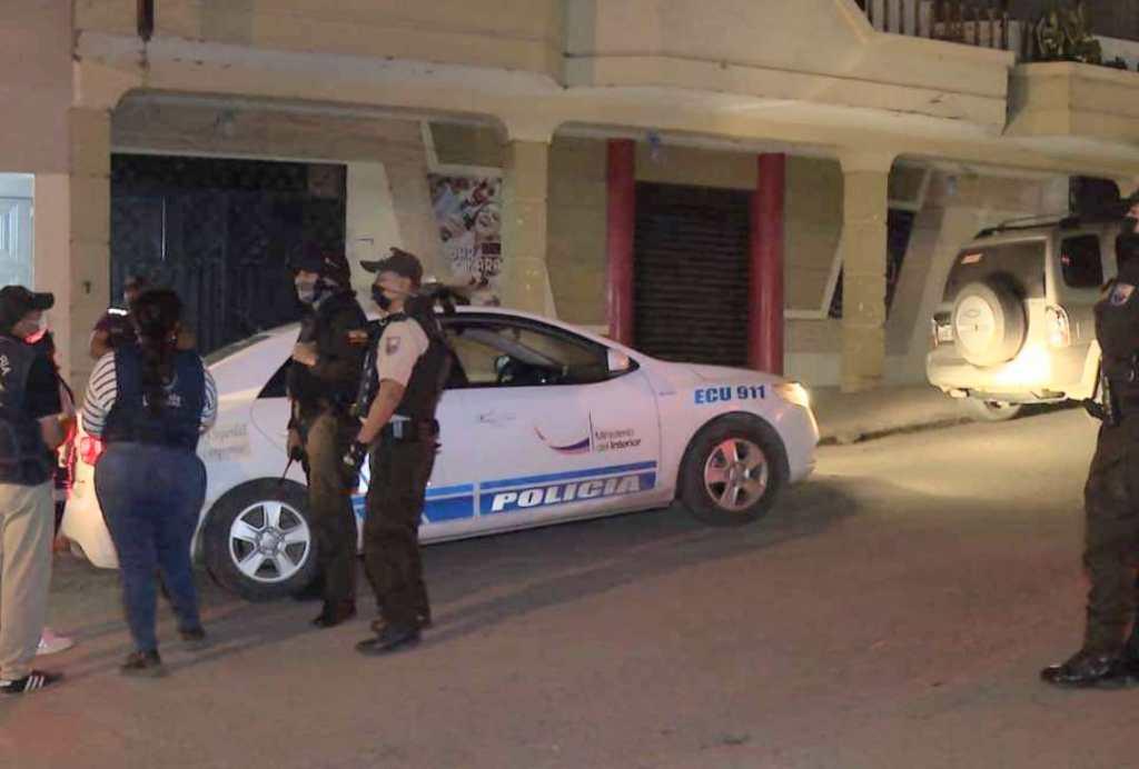 La Policía de Loja participó de los operativos.