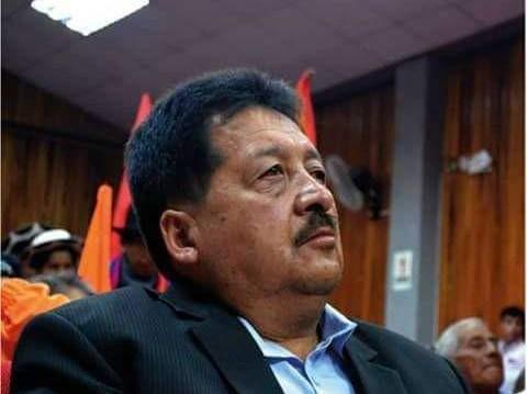Gilbert Granda Romero, presidente de la UNE en Loja.