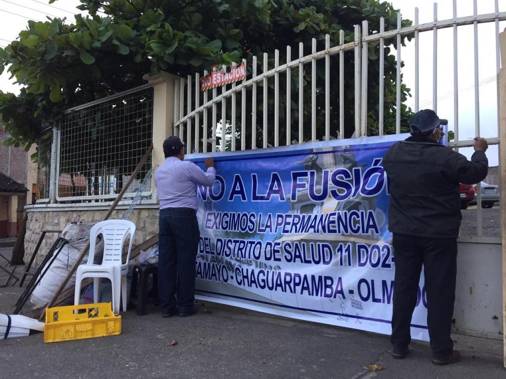 Diversas han sido las medidas de hecho realizadas por los catamayenses para sensibilizar a las autoridades.