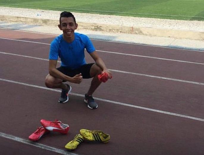 Isaac Córdova realiza sus entrenamientos en Catamayo.
