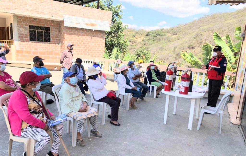 El evento aconteció el último jueves en la parroquia Malacatos.