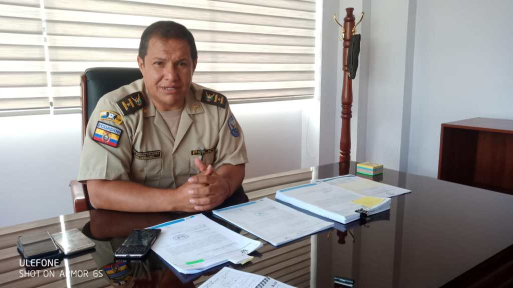 Juan Guerra Palacios lleva 31 años en la Policía Nacional.