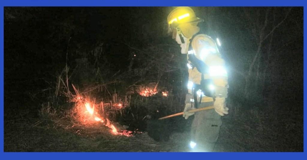 Uno de los incendios obedeció a la explosión de un transformador de energía eléctrica.