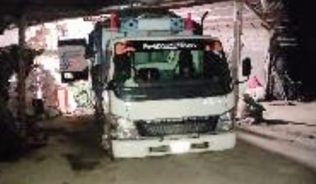 En ese vehículo circulaban los presuntos atacantes.