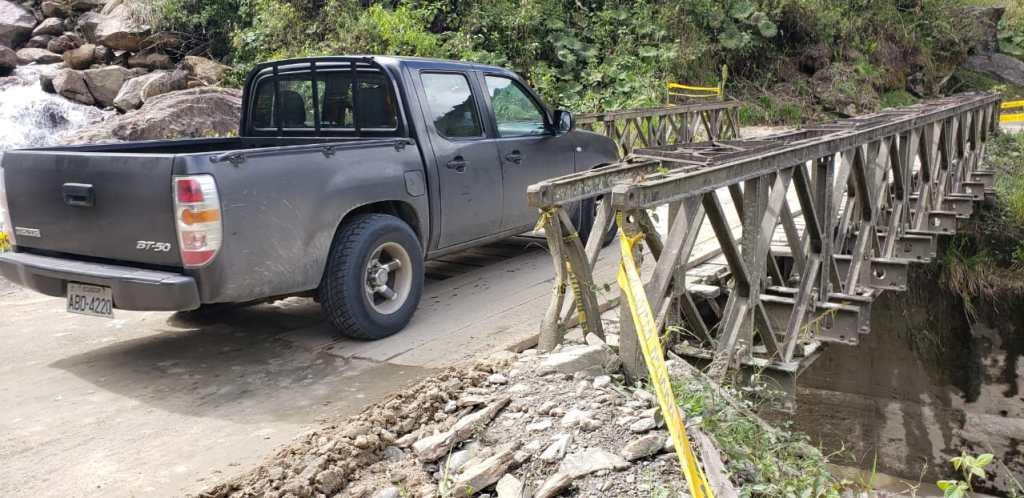 Las autoridades informan que la circulación por el puente, hoy en mantenimiento, será en un solo sentido.