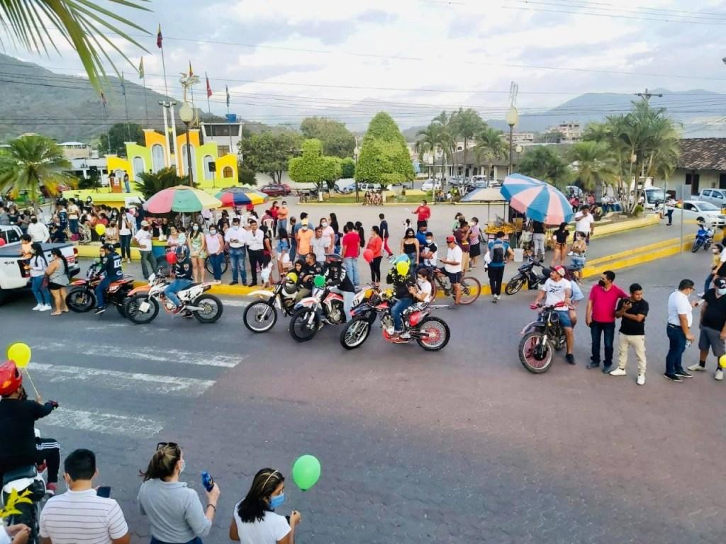 La tarde de este jueves, 16 de septiembre, se agitó el centro de la ciudad.