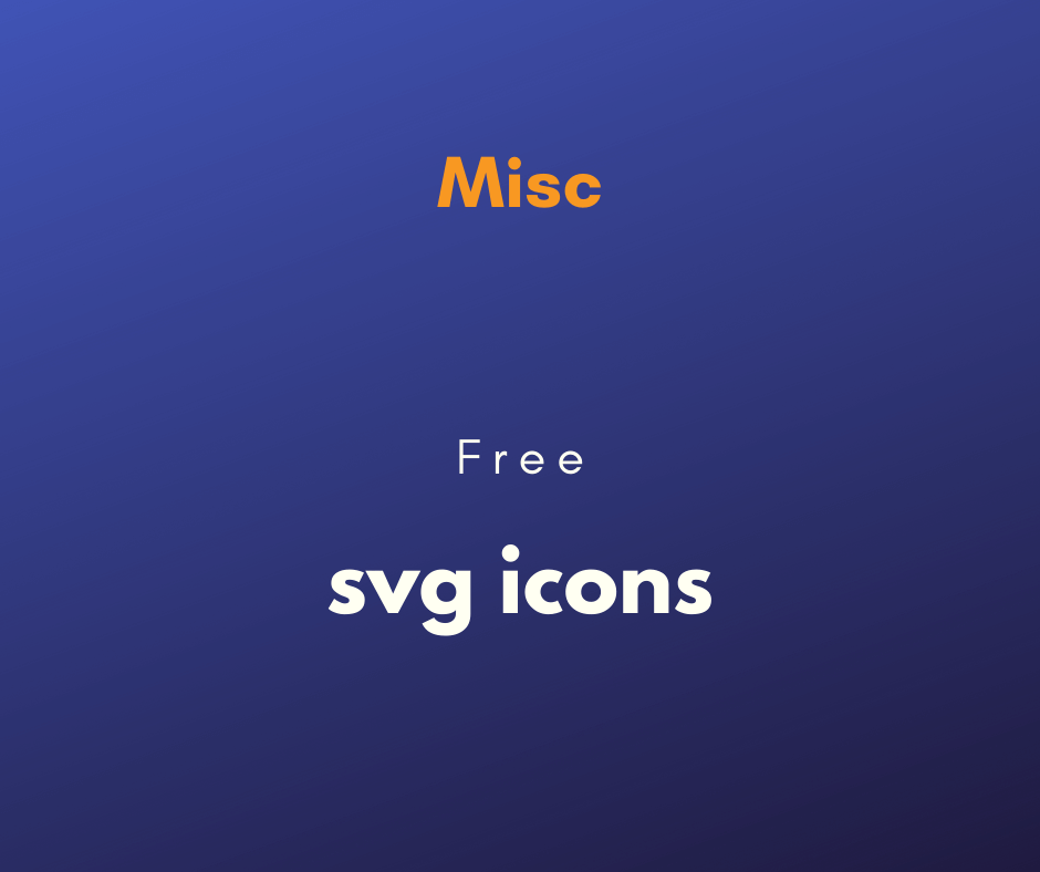 Free svg loading icons cover