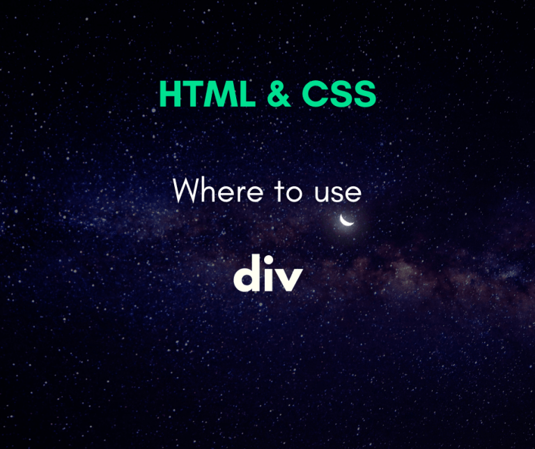 Where to use div cover