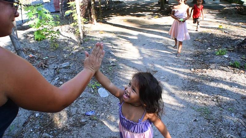 Niños filipinos