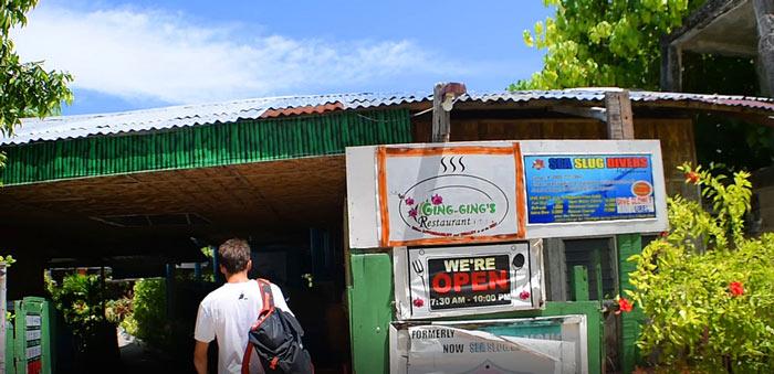 isla malapascua donde comer