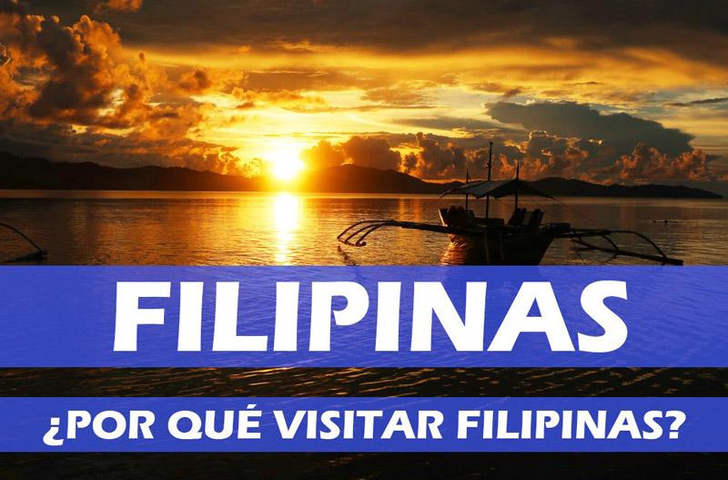 Razones para visitar Filipinas