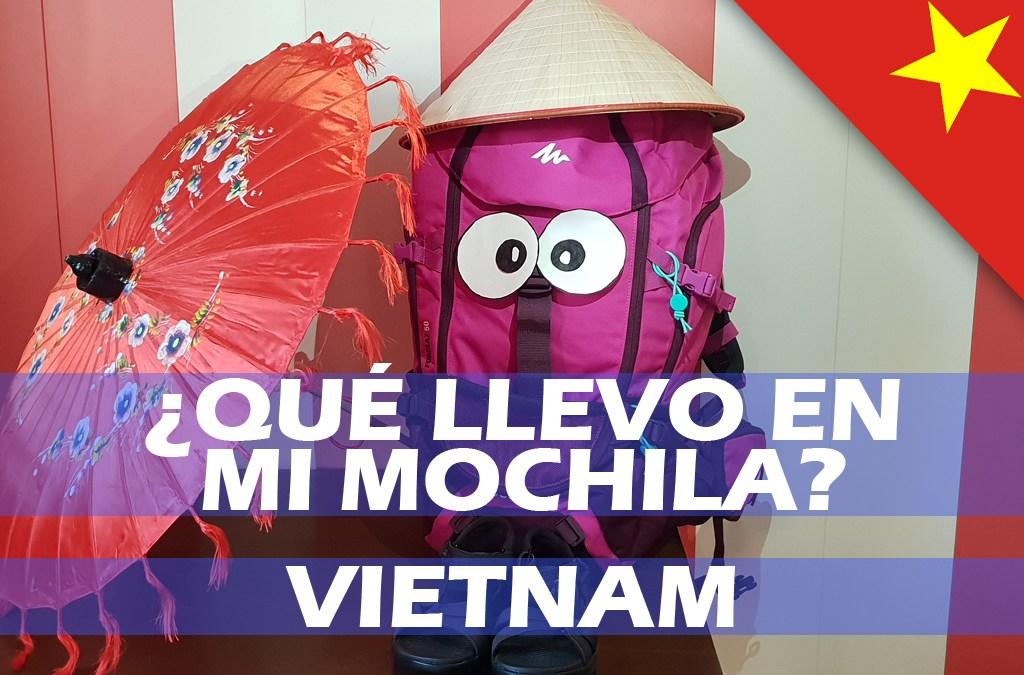 Qué llevar en la mochila a Vietnam. Lista definitiva 2019