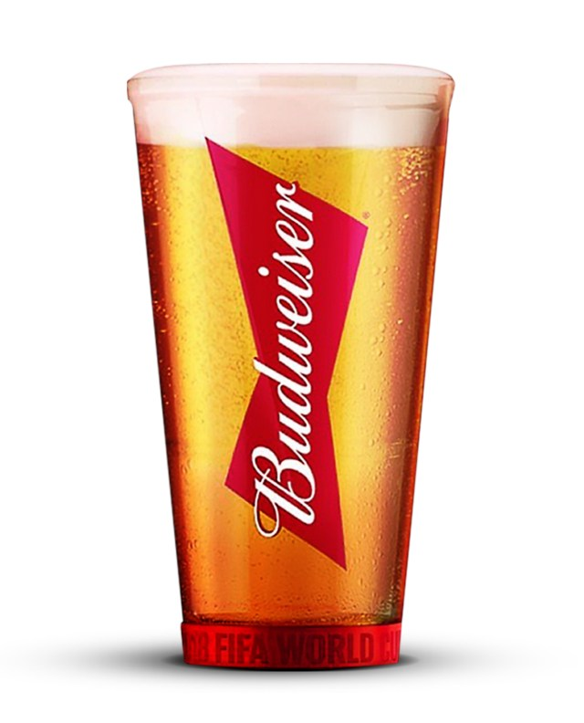 Copo Oficial da Copa: Red Light Cup Budweiser