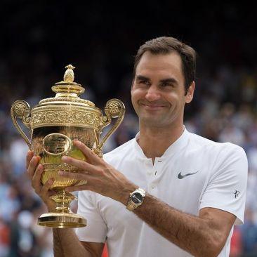 Roger Federer (Copyright - Rolex)