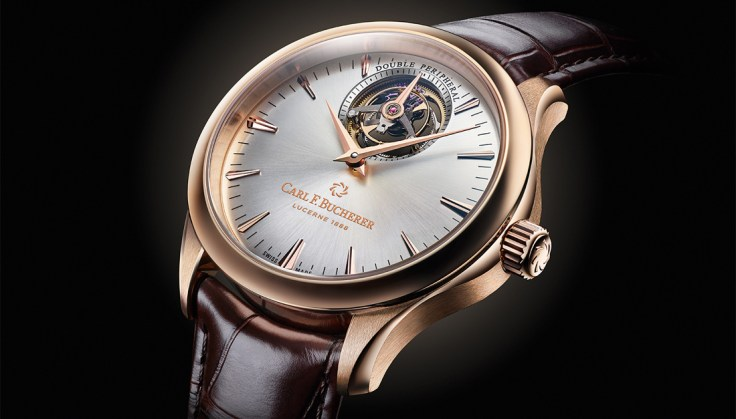 SCHWEIZ CARL F. BUCHERER MANERO TOURBILLON DOUBLE PERIPHERAL