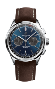 11_Premier_B01_Chronograph_42_with_blue_dial_and_brown_nubuck_strap