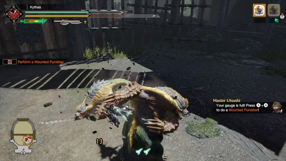 Monstruo-cazador-ascenso-demo-montar