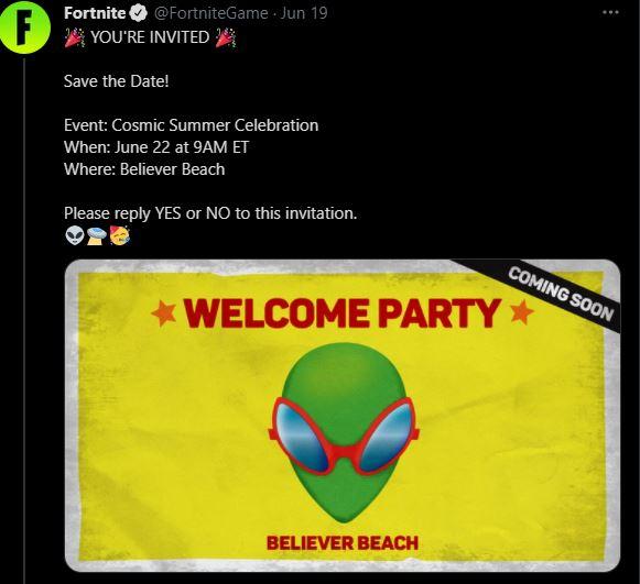 Evento de la temporada 7 de Fortnite