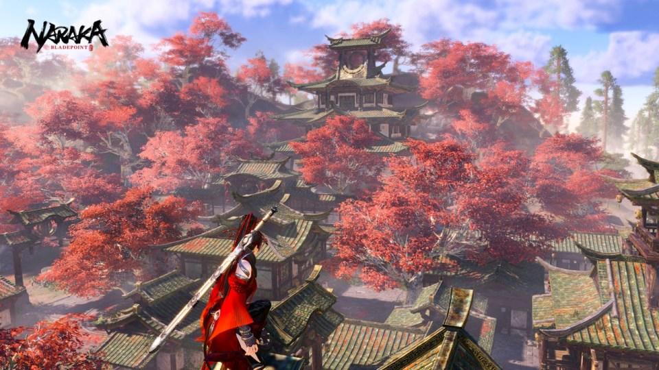 Flores rojas de Naraka