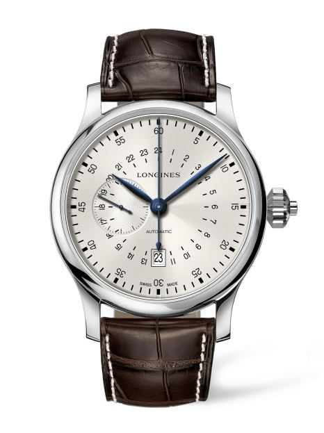 Longines 24 hours single push piece chronograph