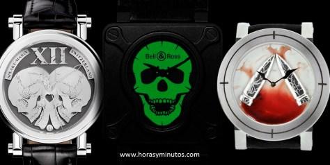 relojes de Halloween