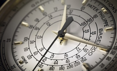 Patek Philippe Multi Scale Chronograph - detalle de la esfera