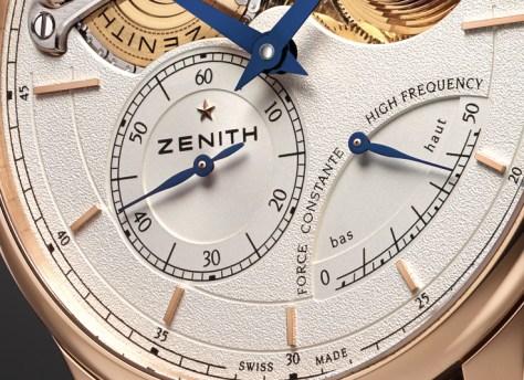 Zenith Academy Georges Favre-Jacot detalle