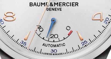 Baume & Mercier Clifton Big Date and Power Reserve -indicador de reserva de marcha