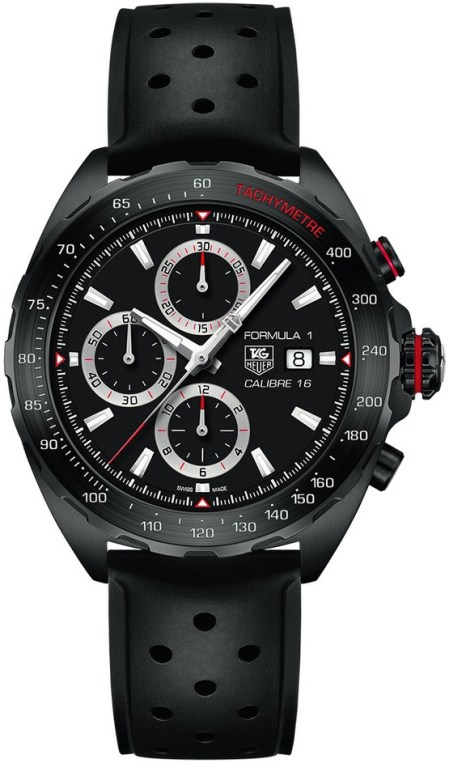 Tag Heuer Formula 1 Calibre 16 Automatik Chronograph negro