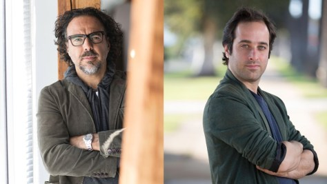 Alejandro González Iñárritu and Tom Shoval