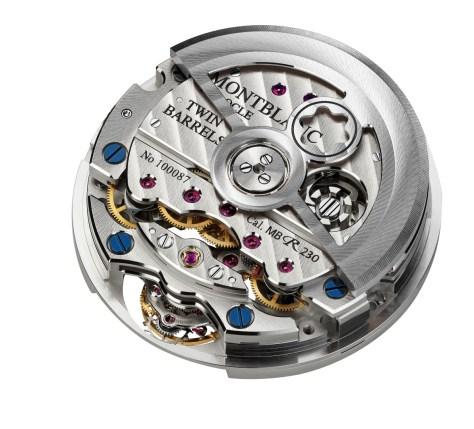 Montblanc Heritage Chronométrie ExoTourbillon - Calibre MB R230 oro blanco