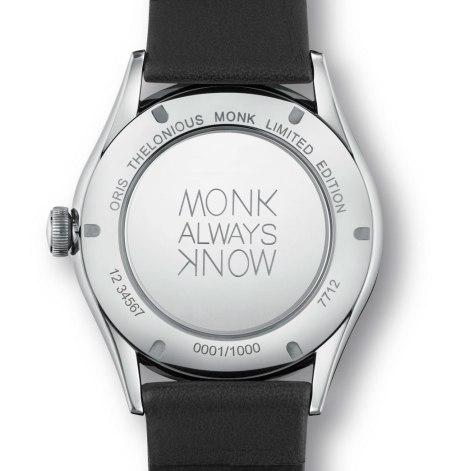 Oris Thelonious Monk Limited Edition - grabado